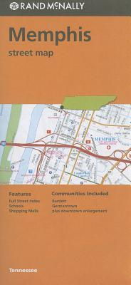 Rand Mcnally Memphis Street Map By Rand McNally and Company
